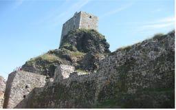 Den Trosky slotten fördärvar Royaltyfria Bilder
