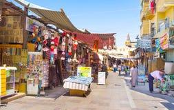 Den turist- marknaden Arkivfoton