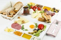 Den turkiska frukosten Arkivfoto