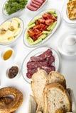 Den turkiska frukosten Royaltyfri Foto