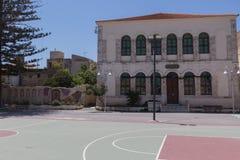 Den turkiska skolan Arkivfoton