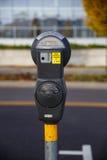Den två timme parkeringsmetern inkvarterar endast Fotografering för Bildbyråer