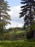 Den Tyndale monumentet nära Wotton under kanten, Gloucestershire, UK arkivbilder