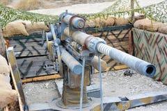 Den tyska kanonen Royaltyfri Foto
