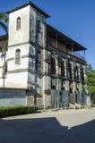 Den tyska koloniinvånaren förlägger högkvarter Bagamoyo royaltyfria foton