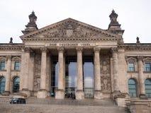 Den tyska parlamentet Arkivbild