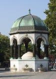 Den tyska springbrunnen, Istanbul Arkivfoton