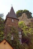 Den tyska stenen står hög Arkivfoto