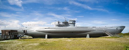 Den tyska världen kriger typ VIIC/41 för ubåt 2 Royaltyfria Foton