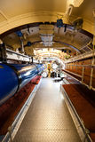 Den tyska världen kriger typ VIIC/41 för ubåt 2 - torpedera rummet Royaltyfria Foton