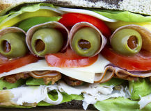 Den ultimata smörgåsen Arkivfoton