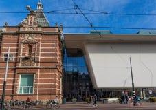 Den underbara gamla staden av Amsterdam, Nederländerna royaltyfri fotografi