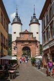 Den underbara gamla staden av Heidelberg fotografering för bildbyråer