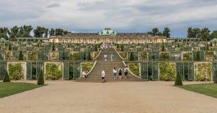 Den underbara gamla staden Potsdam, Tyskland royaltyfria bilder