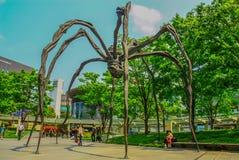 Den underbara moderna arkitekturen av Tokyo fotografering för bildbyråer