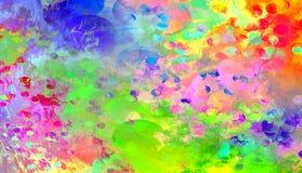 Den unfocused ljusa färgrika bakgrunden royaltyfri illustrationer