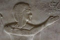 Den unga farao av Egypten royaltyfri foto