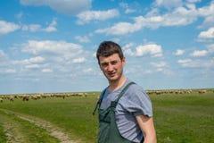 Den unga herden Fotografering för Bildbyråer