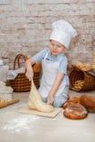 Den unga kocken Arkivbilder