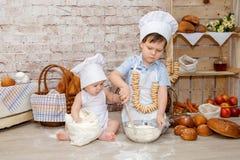 Den unga kocken royaltyfri foto
