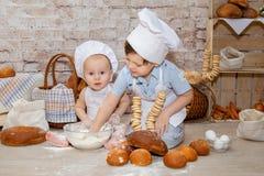 Den unga kocken Royaltyfria Bilder