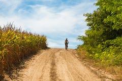 Cykla för land Fotografering för Bildbyråer