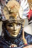 Den traditionella Venetian karnevalet maskerar Royaltyfri Fotografi