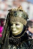 Den traditionella venetian karnevalet maskerar Royaltyfria Foton