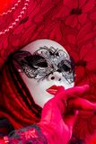 Den Venetian karnevalet maskerar Royaltyfri Bild