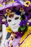 Den Venetian karnevalet maskerar Arkivfoto