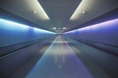 Den United Airlines tunnelen i Chicago, Illinois Royaltyfria Bilder