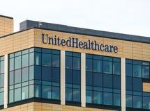 Den UnitedHealth gruppen förlägger högkvarter byggnad Royaltyfri Fotografi