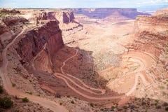 Canyonlands nationalpark Utah Royaltyfri Fotografi