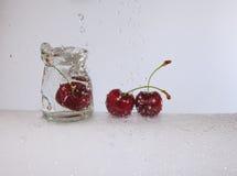 Den uppfriskande körsbäret Arkivfoto