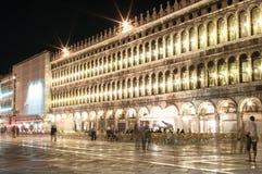 Den upplysta staden, Venedig Royaltyfri Foto