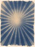Den utmärkta solen rays inramad bakgrund för tappning grunge Royaltyfria Bilder