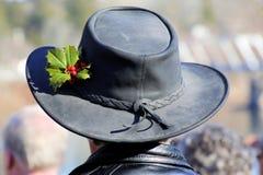 Den utsmyckade hatten Fotografering för Bildbyråer