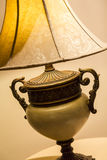 Den utsmyckade lampan specificerar Arkivfoto