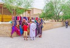 Den uzbekiska familjen Arkivfoton