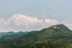 Den väldiga Annapurnaen Arkivbilder