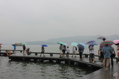 Den västra sjön Arkivbild