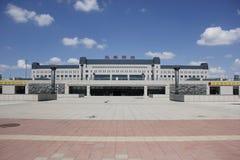 Den västra stationen Arkivfoton