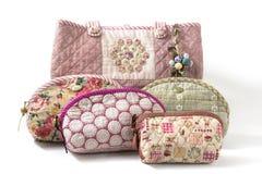 Den vaddera handväskan Royaltyfria Bilder