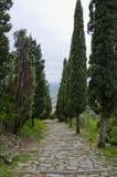 Den Val D `en Chiana från via Santa Margherita Royaltyfria Foton