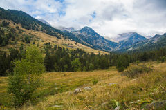 Den Vall de Sorteny naturen parkerar, Andorra Fotografering för Bildbyråer