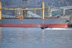 Den Vancouver polisen Marine Unit Arkivfoton