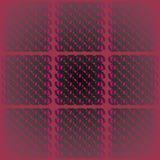 Den vanliga fyrkantmodellen med violetta magentafärgade grå färger för ovala beståndsdelar svärtar på mörker - rött centrerat och vektor illustrationer