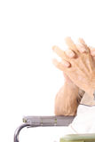 den varaa olyckan klippta fingrar har av Royaltyfria Bilder