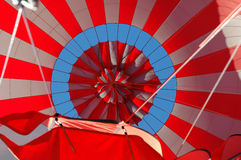 den varma luftballongen öppnar Arkivfoton