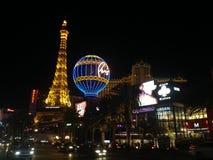 Den Vegas nigthen Arkivbilder